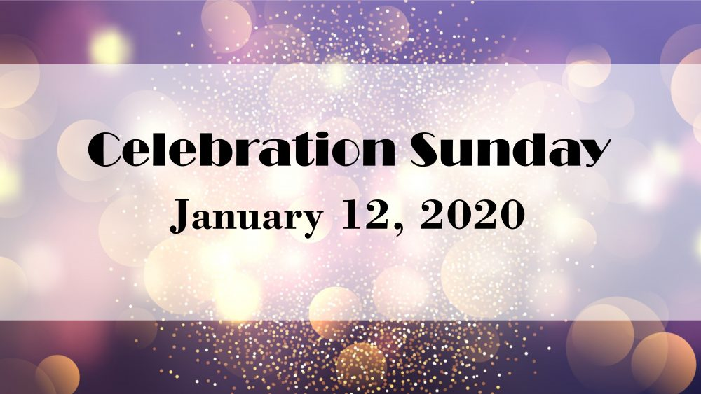 Celebration Sunday 2020