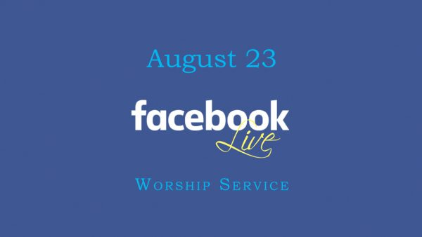 August 23 Worship Service Image